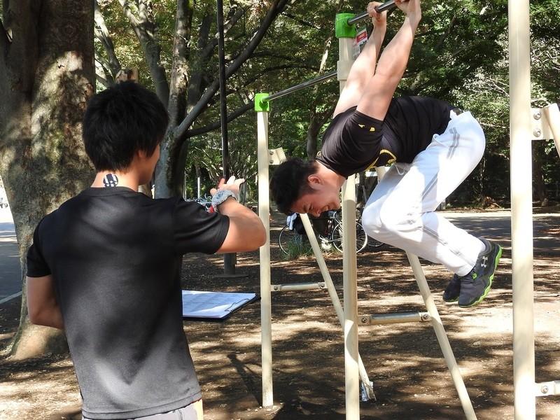 【誰でも歓迎!!】公園で筋トレしていい身体とスゴ技をマスターしようの画像