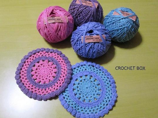 CROCHET BOX  ~かぎ編みワークショップ~の画像