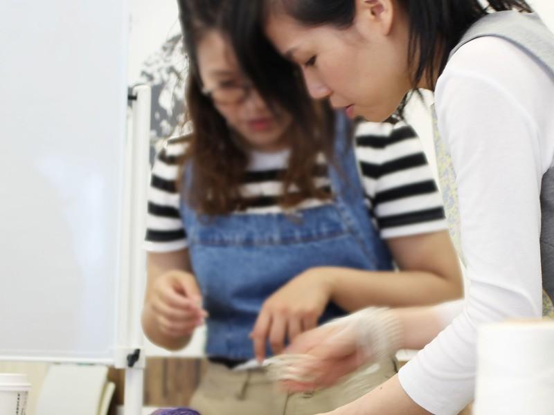 ウィービング2日間集中コース【様々な素材と織り方を学ぼう!】の画像