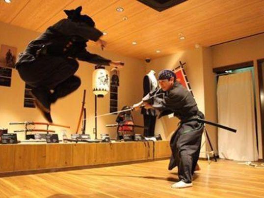 忍者アクション体験 の画像