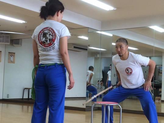 お試しカポエイラ@上野 カポエイラのお稽古を体験!の画像