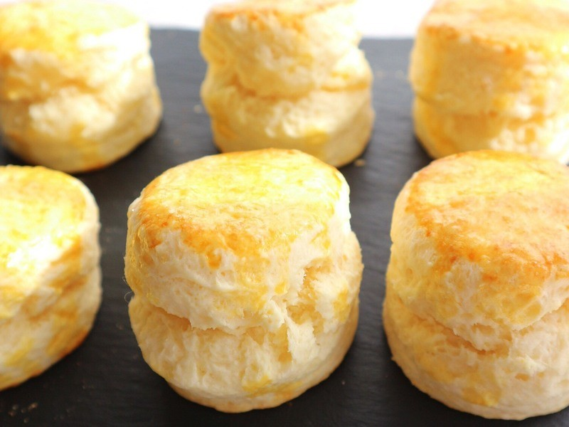 初めてのイギリス菓子「簡単!ふわふわスコーン作り」の画像