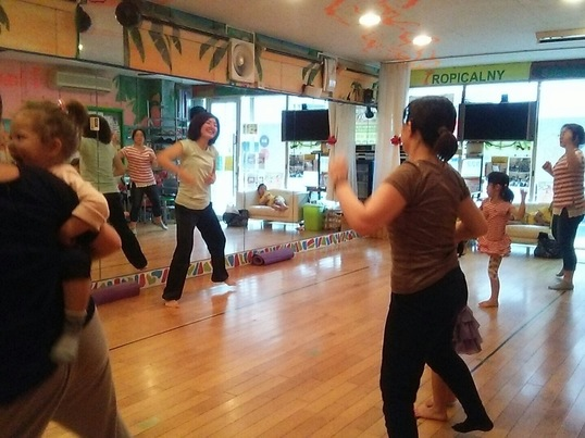 親子コミュニケーションダンス教室(れいこ&Asuka)の画像