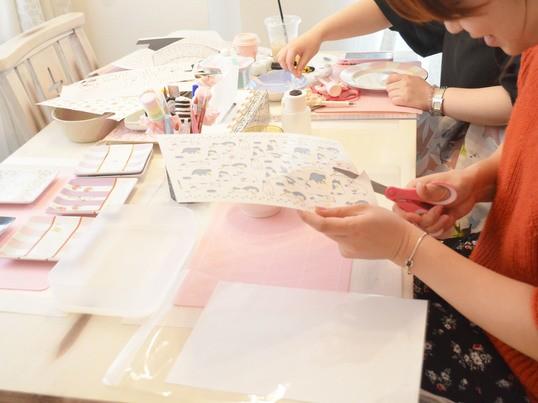 【祐天寺】出産祝いにオススメ 世界で一つのオリジナル哺乳瓶レッスンの画像
