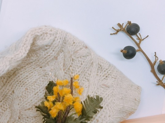 《季節限定開催》2月布花講座【ミモザのブローチ】の画像