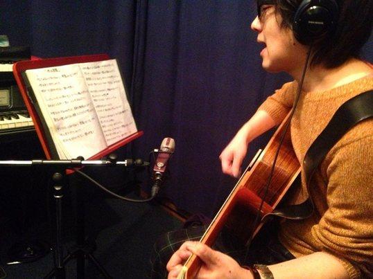 生ギターで伴奏付き♪ボーカルレッスン♪の画像