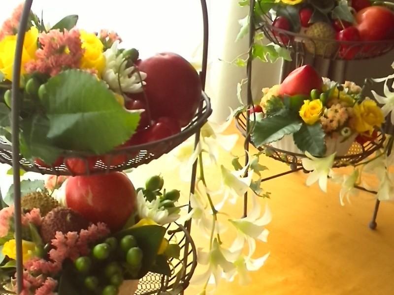 秋の実物で「ハロウィンアレンジ」の画像