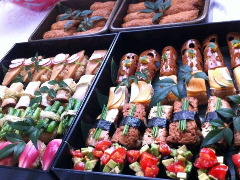やさいのおすし懐石野菜寿司料理教室の画像