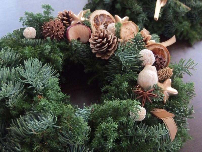 【11/25限定】シャンパン片手にクリスマスリースを作ろう!の画像