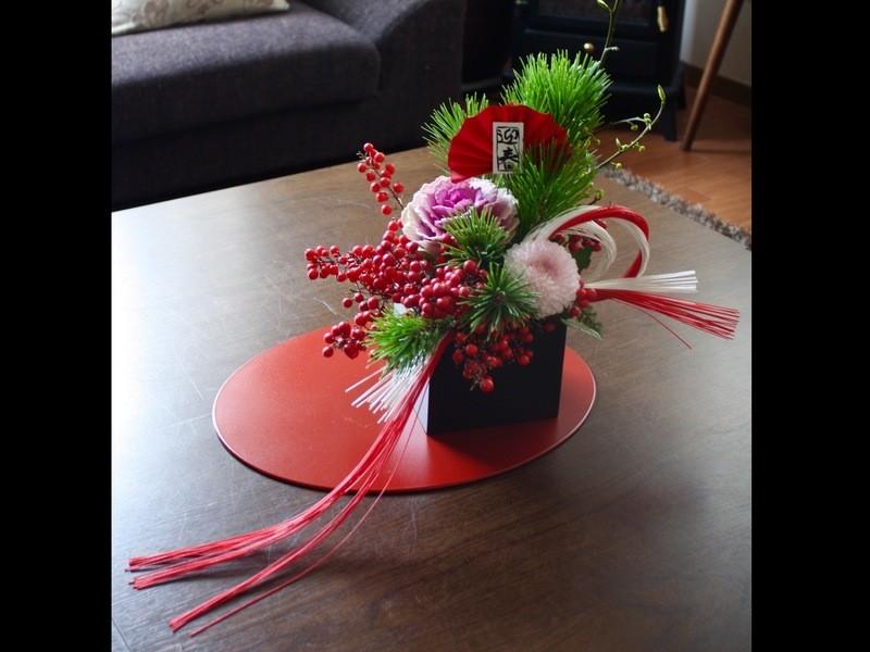 【持ち物不要】お正月のお花でワークショップ!の画像
