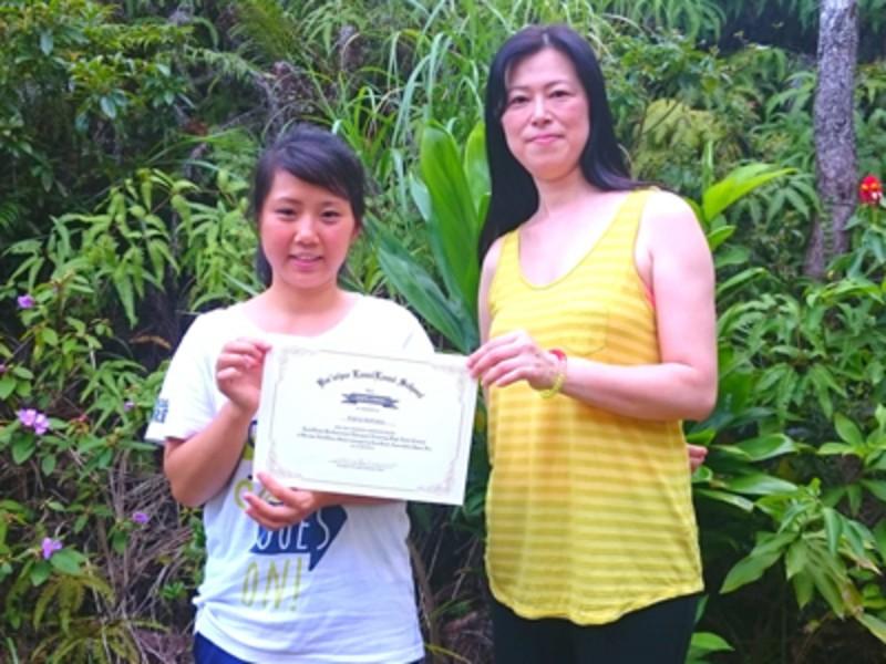 人気のハワイアンボディケア[ロミロミ]を正式に学ぶ!(初級コース)の画像