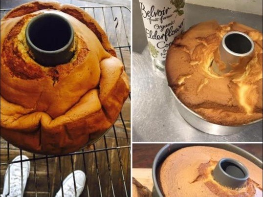 3時間で米粉シフォンケーキをマスター!確実に身につく大人の料理教室の画像