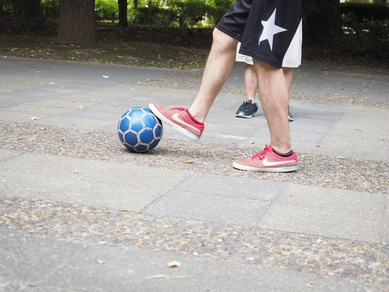 【四ツ谷で初心者♪】初めてのフリースタイルフットボールを楽しもう!の画像