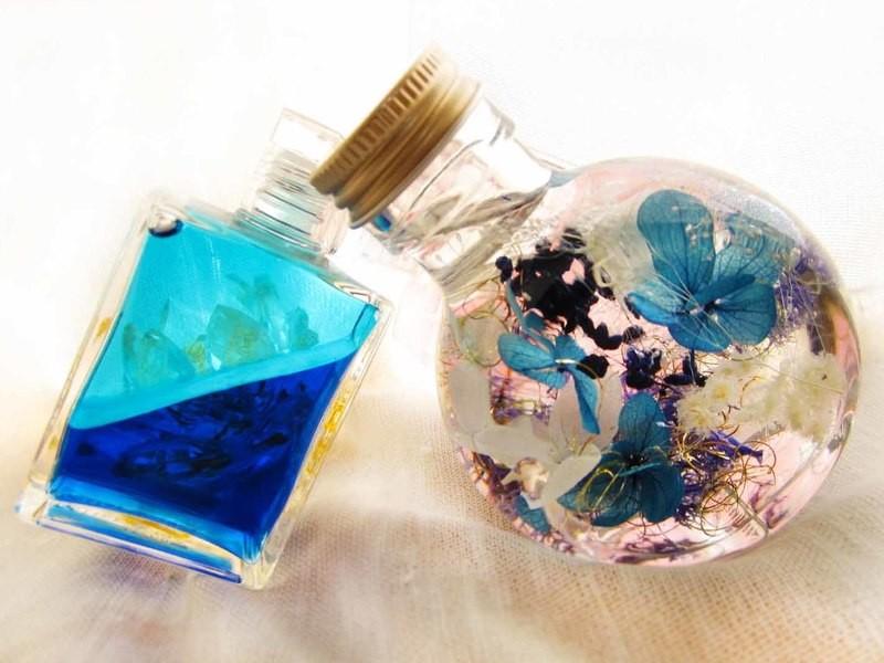 少しの時間、悩み事から解放されませんか?!カラー&ハーバリウム の画像