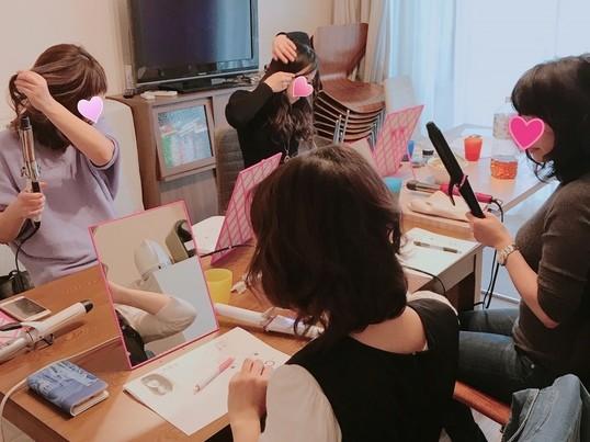 参加者100名以上❀ゆるふわ巻き髪❀ コテの使い方を1から学べますの画像