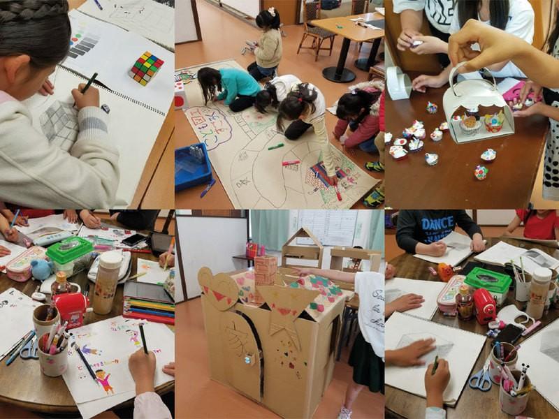 「こども図工サークル」一日体験受付中!生徒募集中!の画像