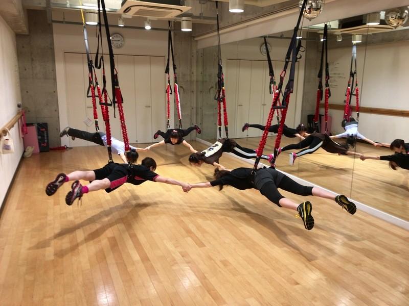 【初回体験】ドイツ発☆最新 新感覚 Bungee Fitnessの画像