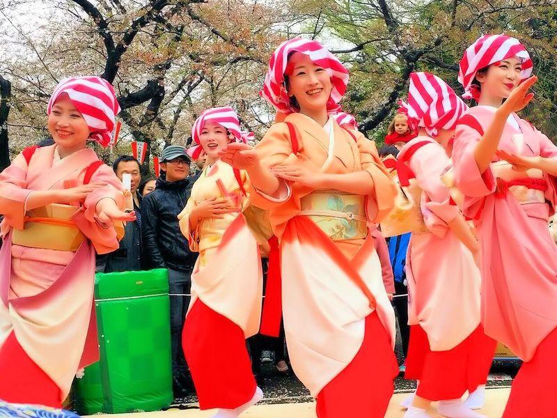 初心者さん大歓迎!新舞踊ワークショップお花見会場で発表会♡!!の画像