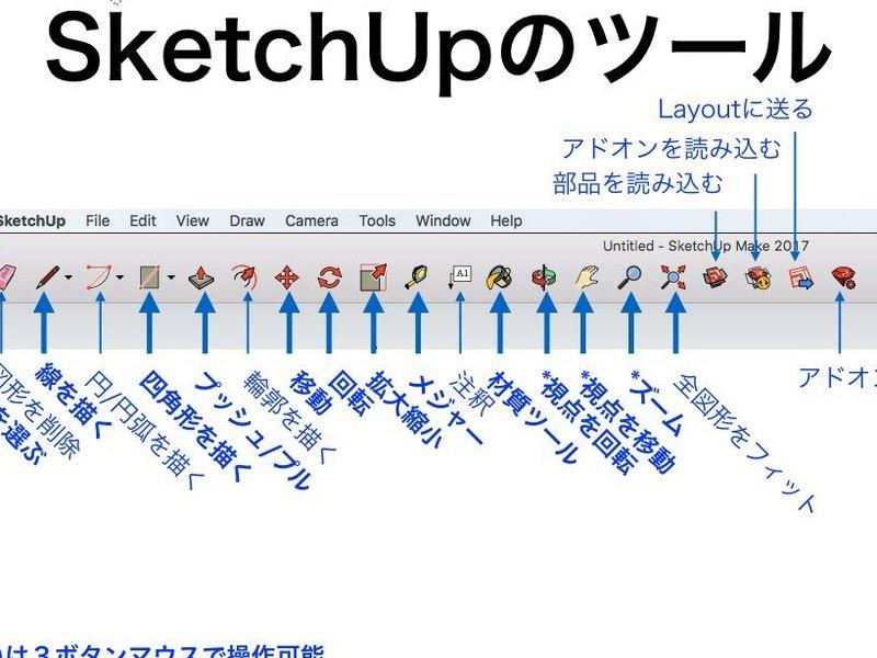 【3Dモデリング超入門】SketchUPカフェ【導入・実践編】の画像
