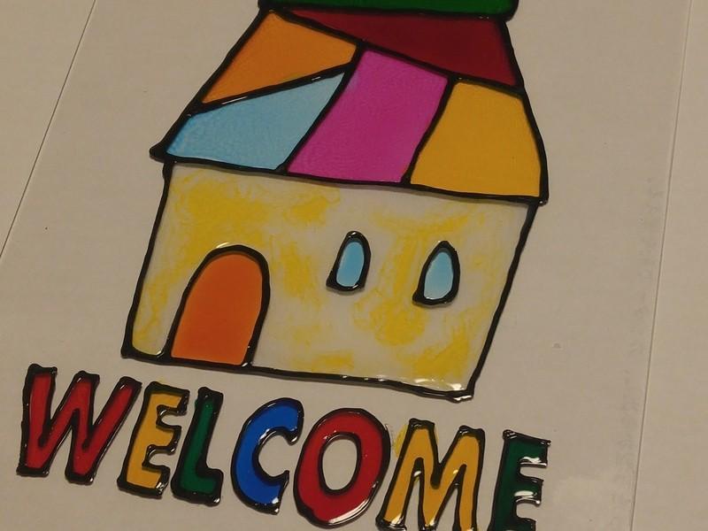 親子で体験 老舗酒屋新川今田商店でディンプルアートワークショップの画像