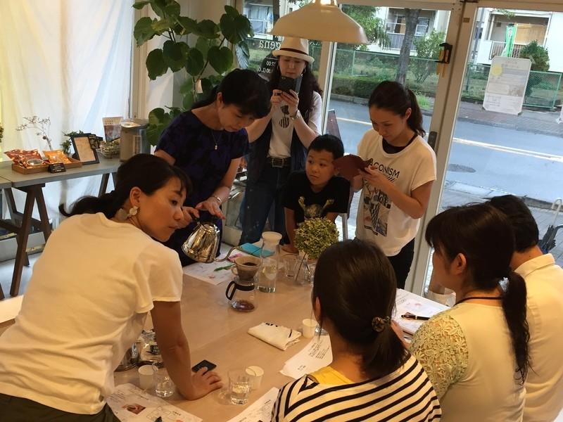 コーヒー教室【中級編】の画像
