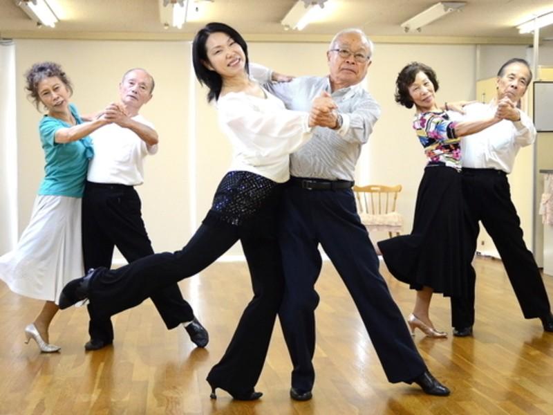 【初心者大歓迎!】社交ダンス60分コースの画像