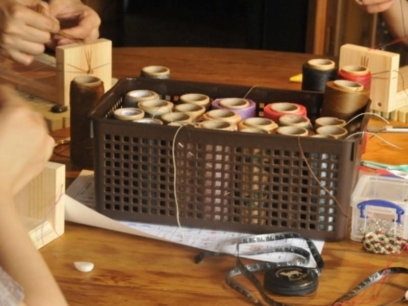 国分寺講座・編み物・マクラメ編み・ブレスレット初級編の画像