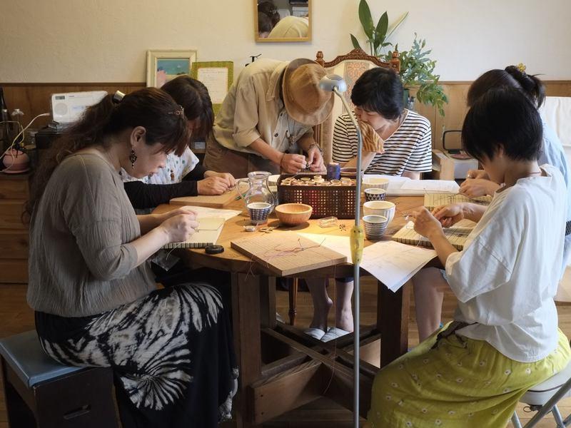 国分寺・編み物/マクラメ編みライオン編み・中級編の画像