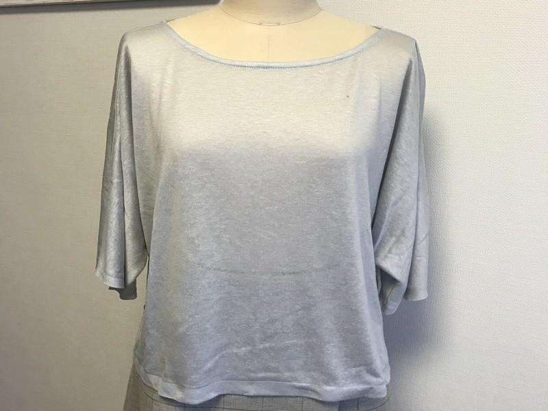 大人可愛い!ドルマンスリーブのビックTシャツの画像