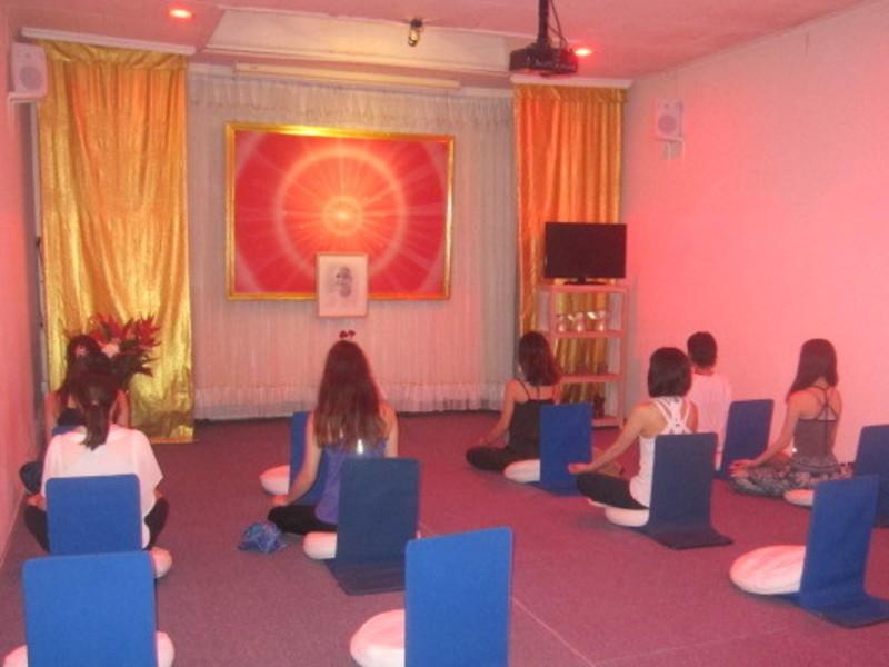 ルドラクシャマーラー作りとジャパ瞑想講座の画像