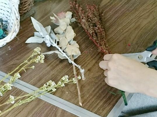DIY教室  選んで作れる!かわいいミニスワッグ 3個セットの画像