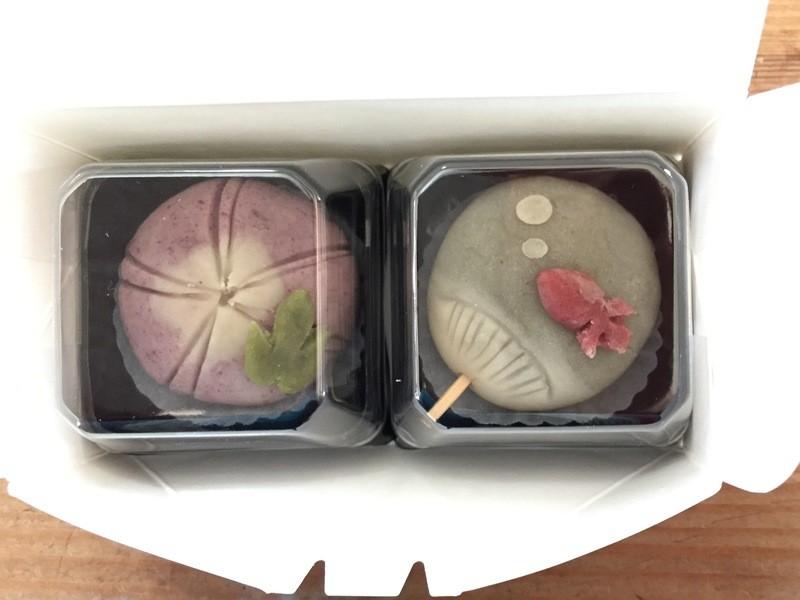 東京de自然派和菓子レッスン【7月】練り切り<うちわ>の画像