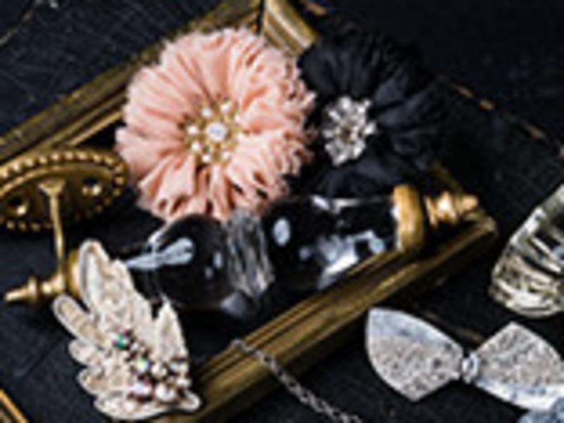 【東京】オートクチュールビーズ刺繍メタルレースのブレスレット♡の画像