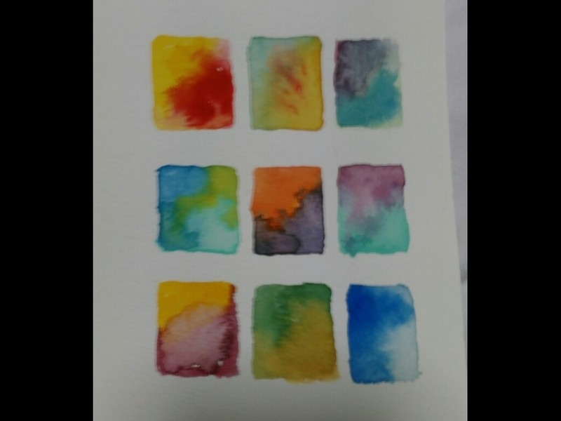 【初心者向け】<心を描く水彩画>かけない人も描けるの画像