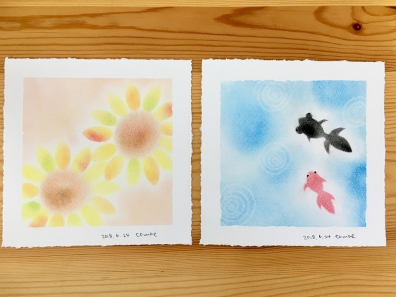 季節のパステル「夏」〜春夏秋冬〜 @国分寺の画像