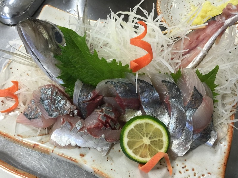 7/21日(土)『魚おろしの基本、鯵と鰯』桜新町の画像