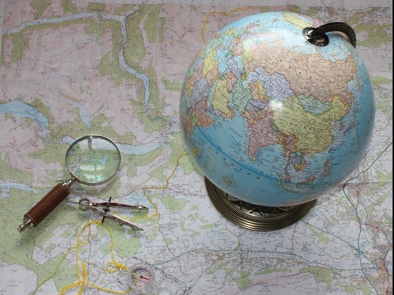 コンパスと地図を作って探検しよう!の画像