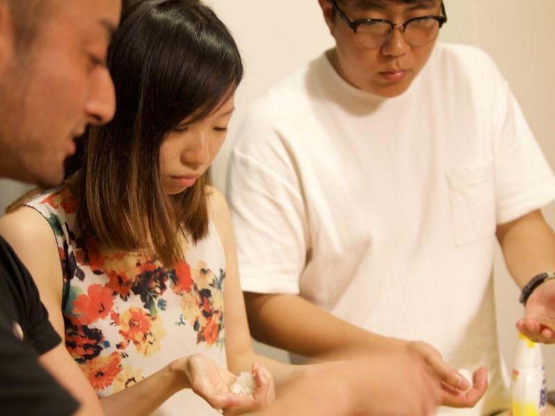 すし職人が教える初心者でも2時間で出来る本格江戸前鮨の握り方の画像