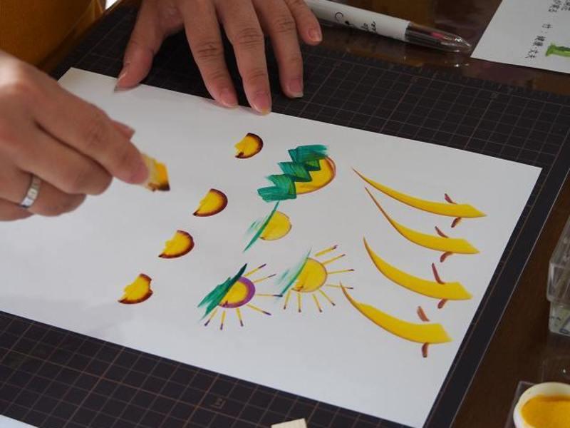 【女性限定】花文字アート 基本の絵を習得! 1day Lessonの画像