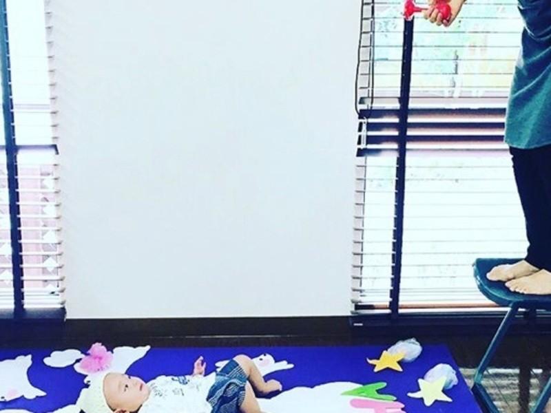 【京都右京区】ベビーアート&英語でベビーママヨガの画像