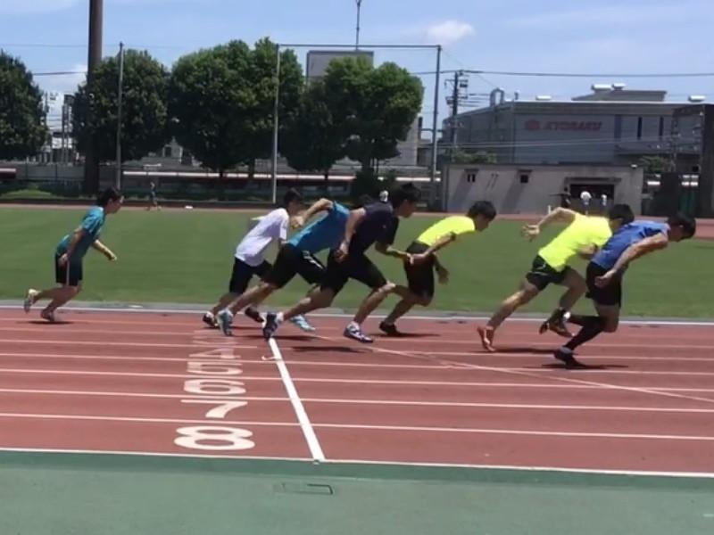 走り込み短距離練習!自分の走りを分析して質の高いトレーニングを!の画像