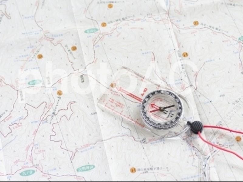 山ガール講座☆地図読みのキホン編の画像