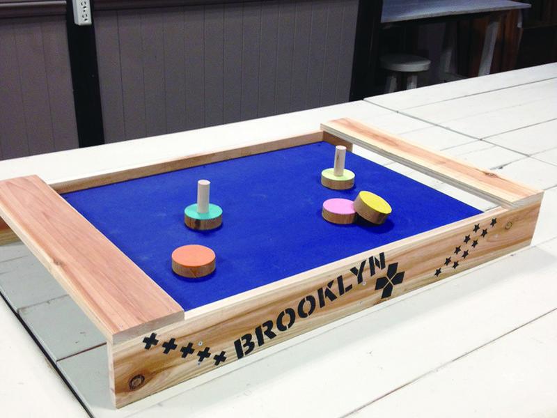 【親子DIY教室】テーブルホッケーで遊ぼう!の画像