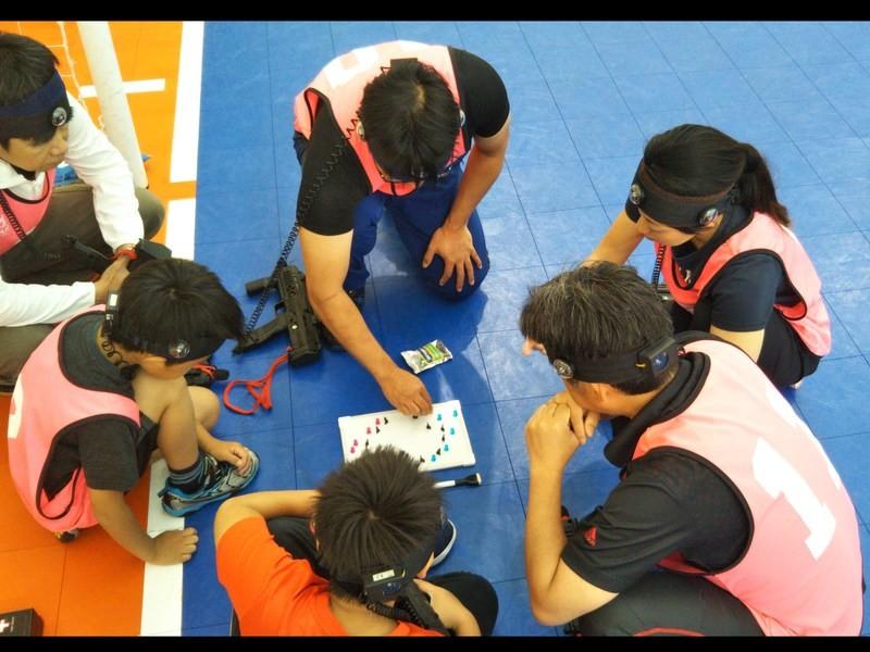 【親子参加限定】協調性が学べるK-LASH®親子レーザータグ教室の画像