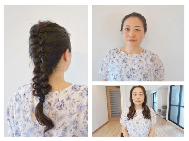 【大阪・土日開催✨】🔰自分で出来るヘアアレンジ 編み込み講座の画像