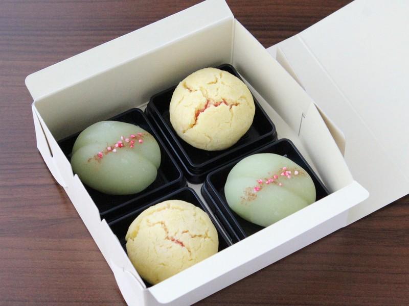 【秋の和菓子】ほろり食感「黄身しぐれ」とういろう製「萩」に挑戦!の画像