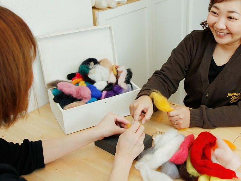 【オンライン開催】羊毛フェルトでねこをつくろう!!の画像
