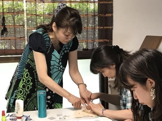オートクチュールビーズ刺繍♪特別短期認定講座♡好きを仕事に!の画像