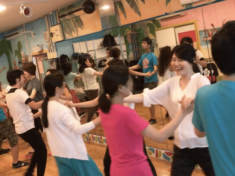 初心者ウォーキングダンス リズムダンス リズム運動 メレンゲダンスの画像