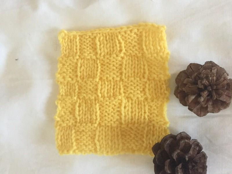 【レッツ・チャレンジ!】編み物はじめてさんの「棒針編み」レッスン♪の画像